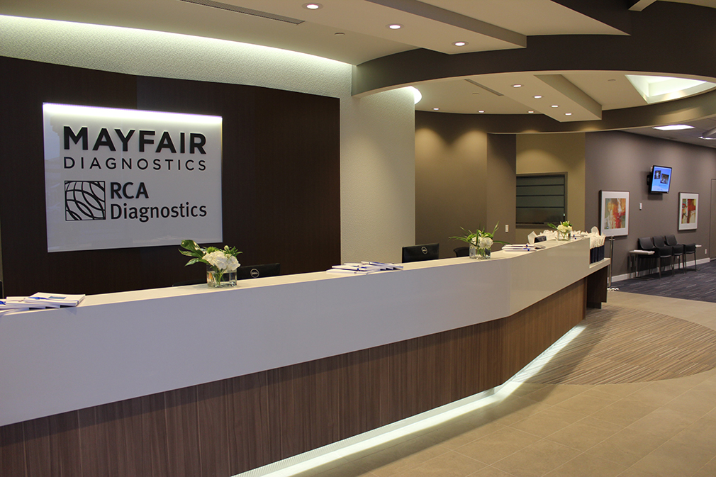 RCA Mayfair MRI and CT Facility – Phase 1 and Phase 2